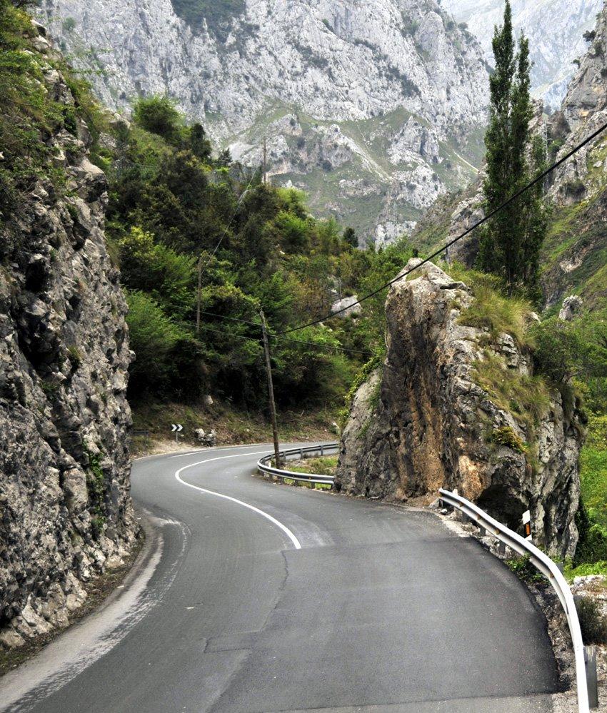 La Hermida Gorge, Cantabria-Asturias, Spain