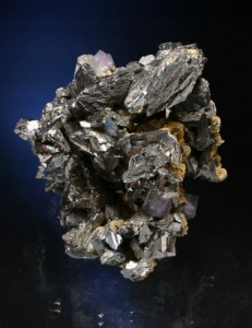 Superb arsenopyrite with minor quartz, siderite and fluorite. Panasqueira Mine. Spanish Minerals specimen, Juan Fernandez Buelga photo.