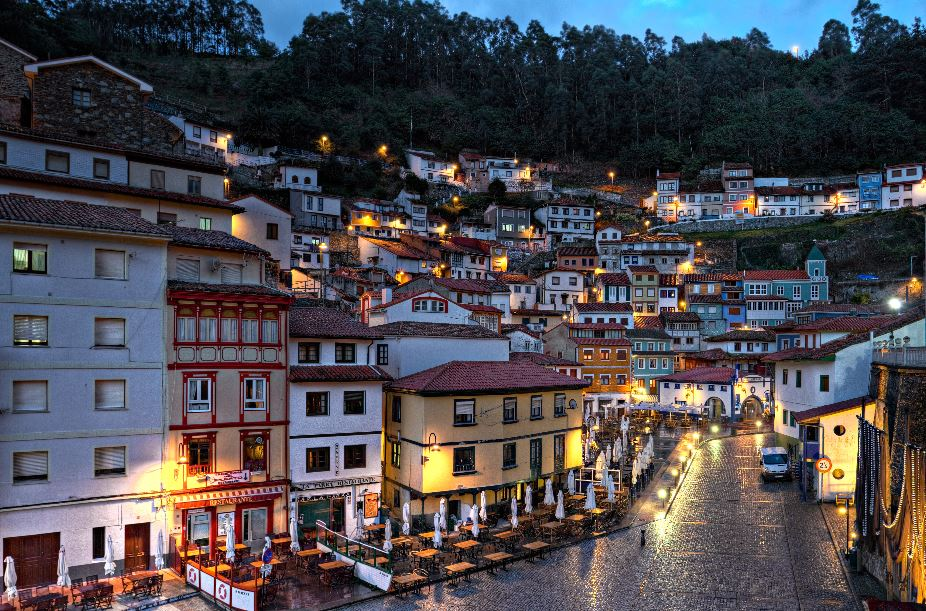 Cudillero village, Asturias, north of Spain tourism