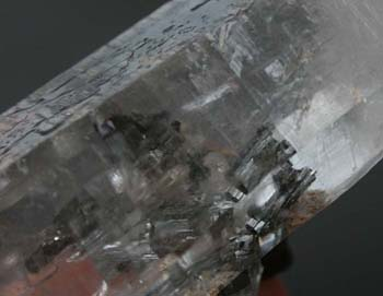 Arsenopyrite inclusions in a quartz from the Panasqueira Mine