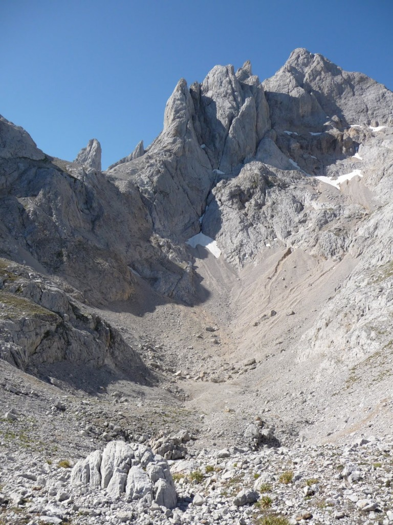 Jou in Picos de Europa mountains