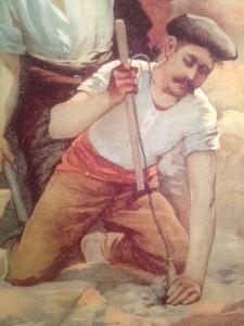old spanish miner - 1905