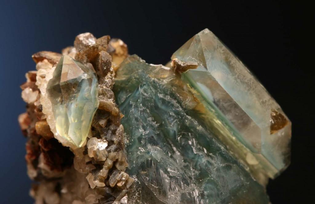 Green quartz Panasqueira