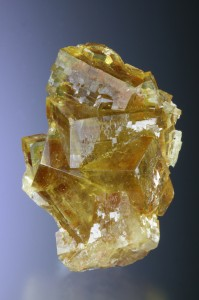 Honey yellow fluorite