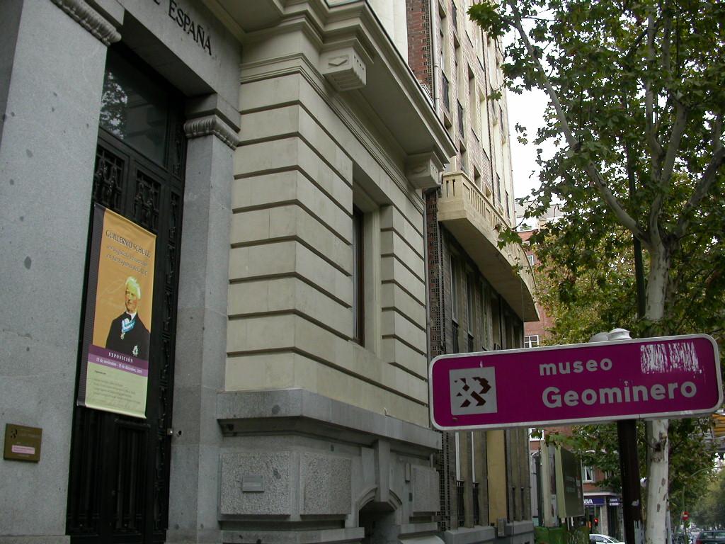 IGME museum, Madrid, Spain
