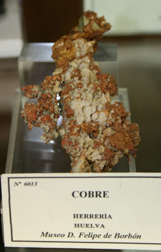 Native copper Spain