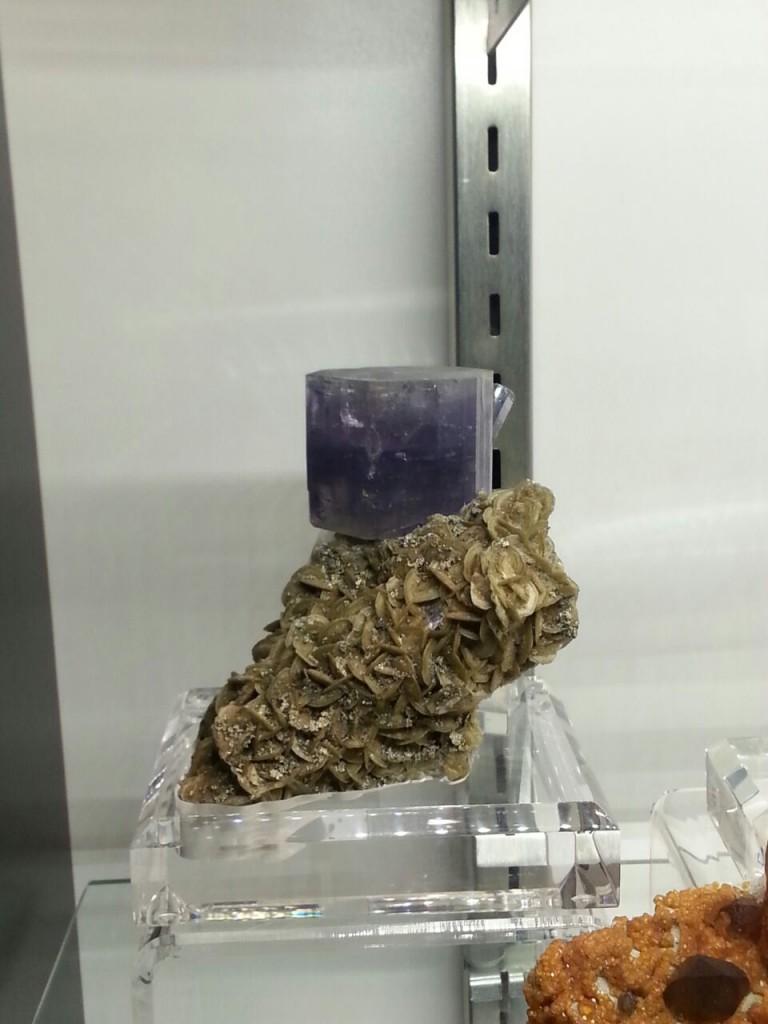 Purple Apatite Panasqueira
